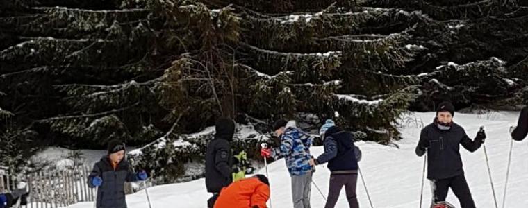 Sortie ski collège
