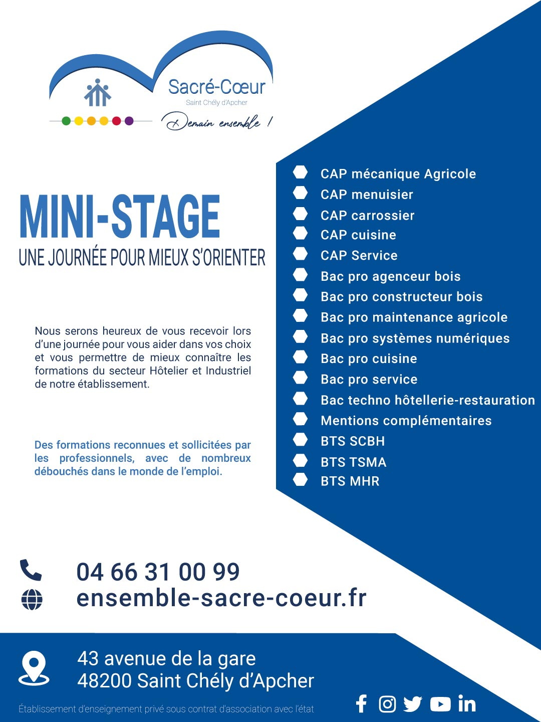 Mini stages 2021