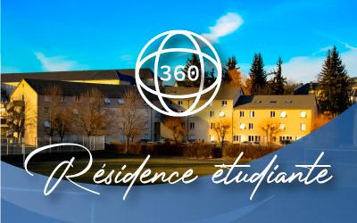 Visite virtuelle de la résidence étudiante