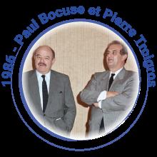 1986 Paul Bocuse et Pierre Troigros