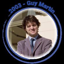 2003 Guy Martin