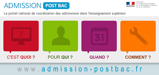 Admission post bac