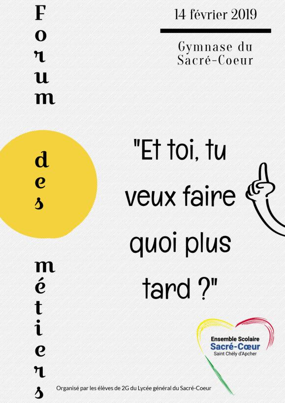 Affiche forum lg