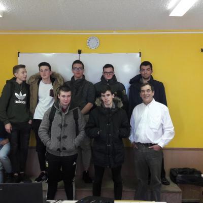 Un aumônier de prison au lycée professionnel industriel du Sacré-Coeur