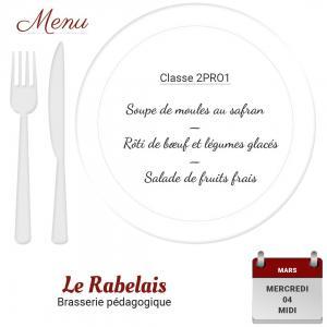 Brasserie le rabelais 04 03 20