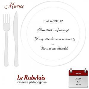 Brasserie le rabelais 12 03 20