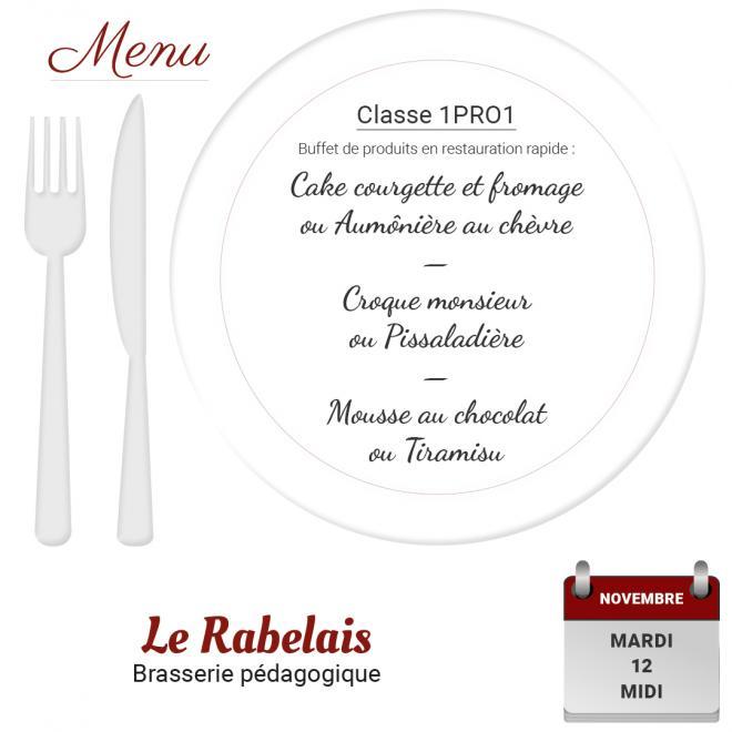 Brasserie le rabelais 12 11 19