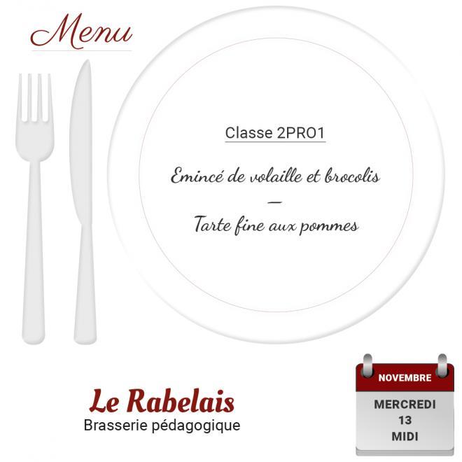 Brasserie le rabelais 13 11 19