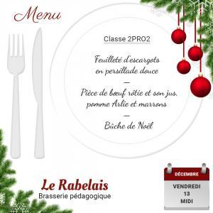 Brasserie le rabelais 13 12 19