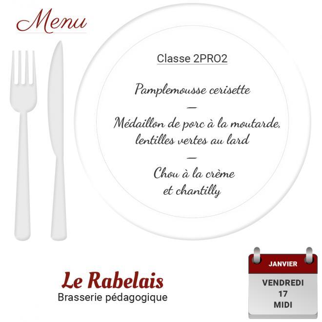 Brasserie le Rabelais 17 01 2020