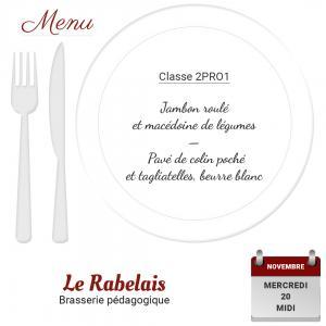 Brasserie le rabelais 20 11 19