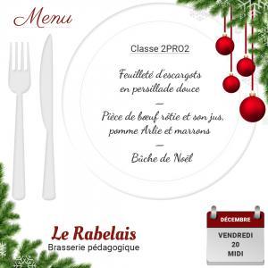 Brasserie le rabelais 20 12 19