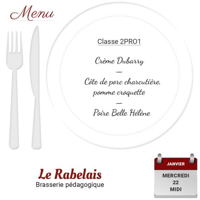 Brasserie le Rabelais 22 01 2020