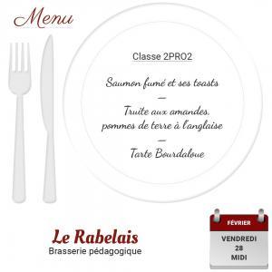 Brasserie le rabelais 28 02 20