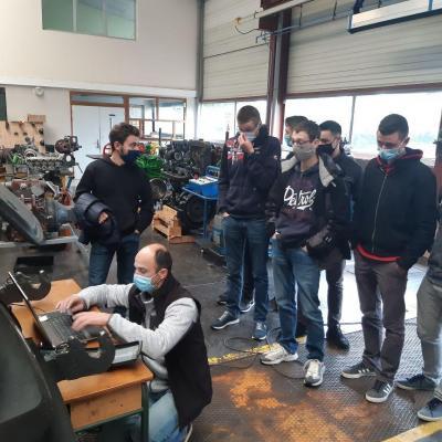La technologie à portée de main grâce à la CADAUMA pour les étudiants de BTS TSMA