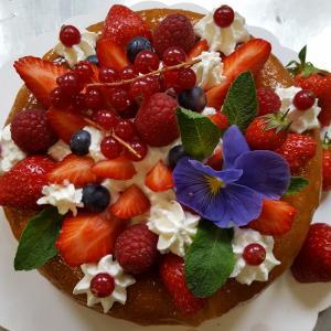 Cercle culinaire baba au rhum et fruits rouges 4