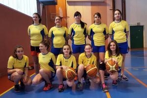 Championnes regionales basket mars 2016 1