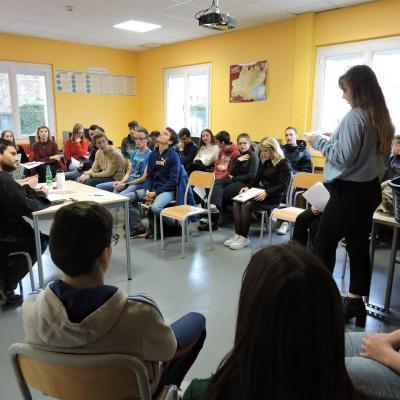 Journée d'animation sur les déchets pour les éco-délégués collégiens, lycéens et étudiants