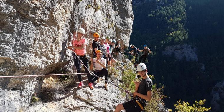 Sortie nature dans les Gorges du Tarn pour les lycéens-3