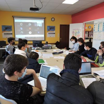 Projet Etwinning – Erasmus+ : Sustainable Poetry 2020-2021