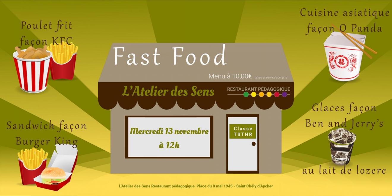 Fast food 13 11 19