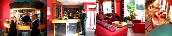 Hotel reception salon