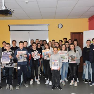 Intervention d'un journaliste au Collège du Sacré-Cœur