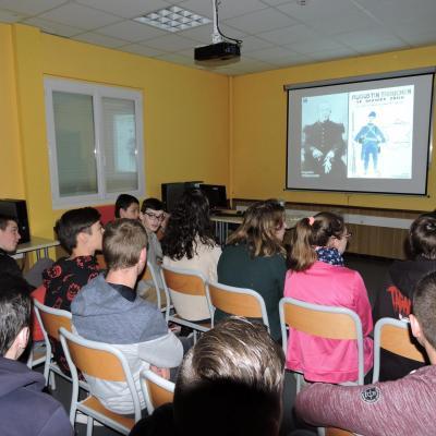 Intervention de l'ONAC de Mende autour du Soldat Trébuchon pour les élèves de 3ème