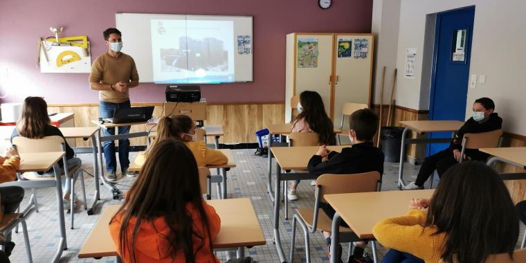 Interventions du SDEE de Mende auprès des classes de 6ème sur la gestion et le tri des déchets en Lozère