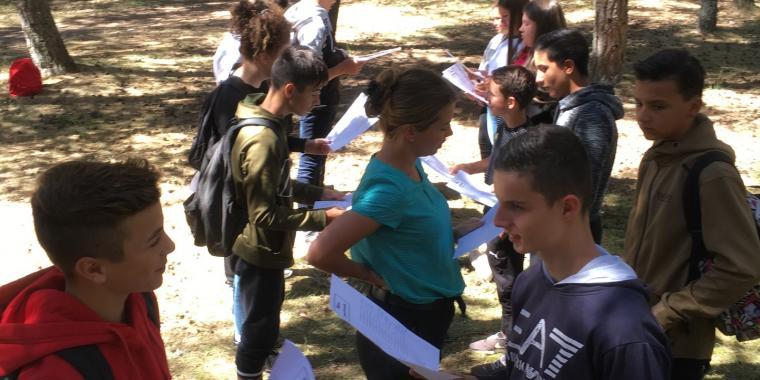 Journée d'intégration en 3ème Prépa-métiers du Sacré-Coeur