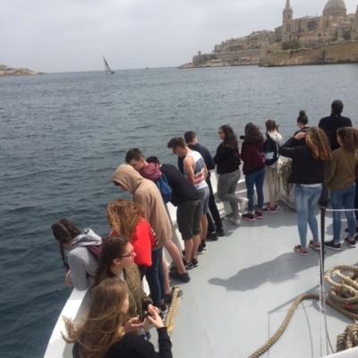Les élèves de 3ème s'envolent pour Malte !