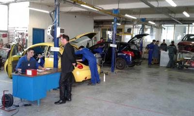 Nettoyage voitures cap bac pro ca octobre 2014