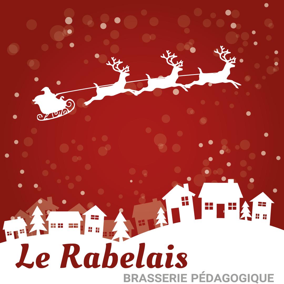 Noel brasserie Le Rabelais