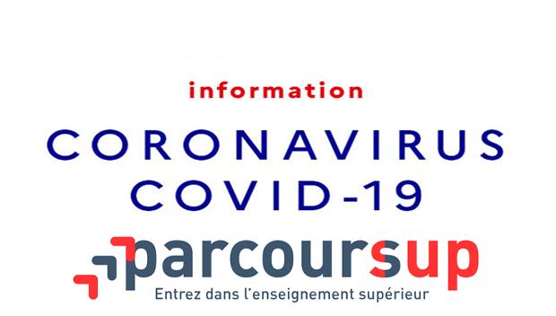 Covid-19 et Parcoursup 2020, la FAQ (nouvelle fenêtre)
