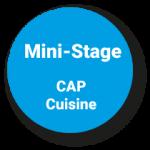 Pastille mini stages cap cuisine
