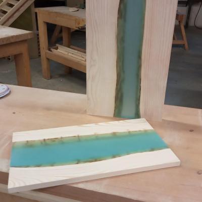 Réalisation d'une «table rivière » dans le cadre du chef-d'œuvre en CAP