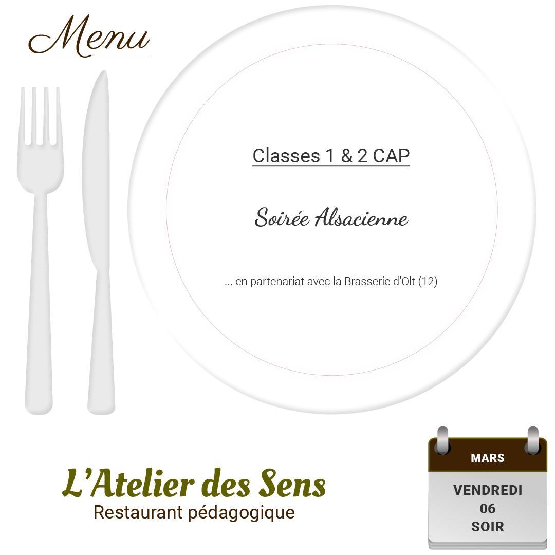 Restaurant l atelier des sens 06 03 2020 soir