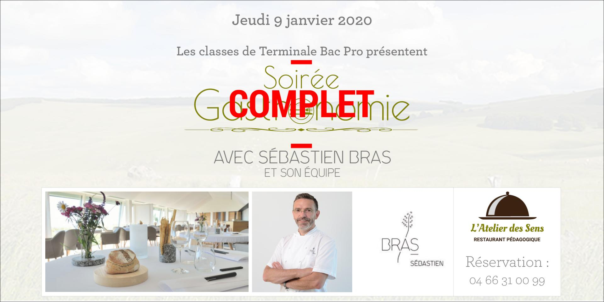 Restaurant l atelier des sens 09 01 20 gastro