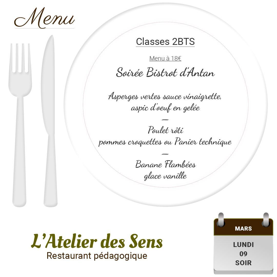 L'Atelier des Sens 09 03 2020 soir