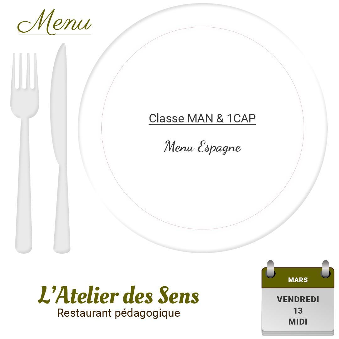 Restaurant l atelier des sens 13 03 2020 midi