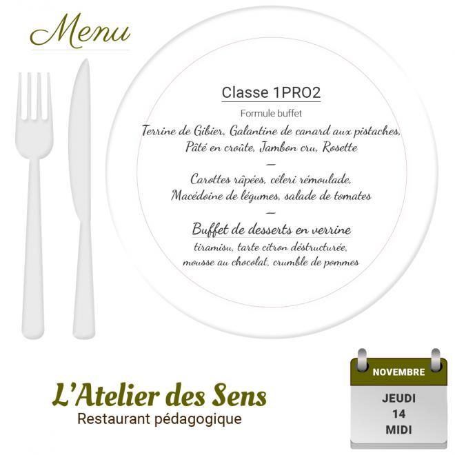 Restaurant l atelier des sens 14 11 19 midi 1