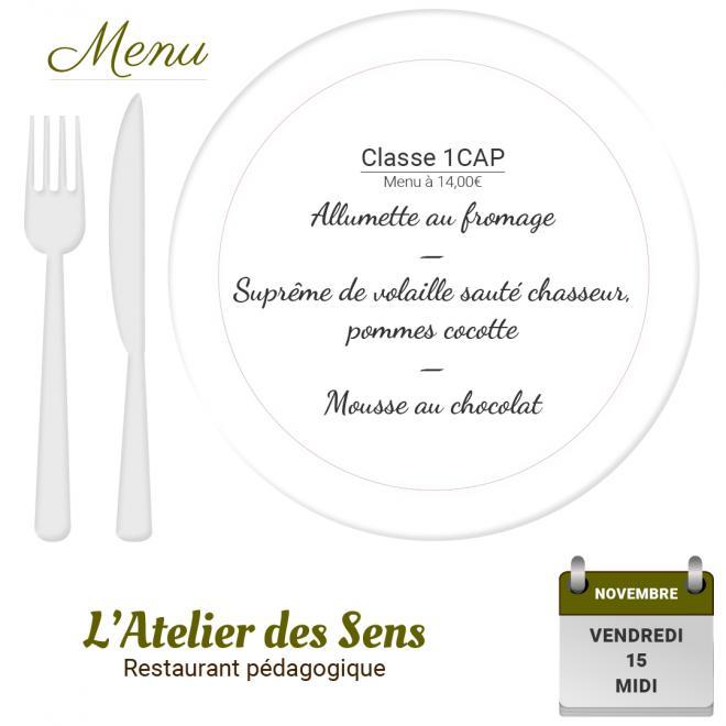 Restaurant l atelier des sens 15 11 19 midi 2