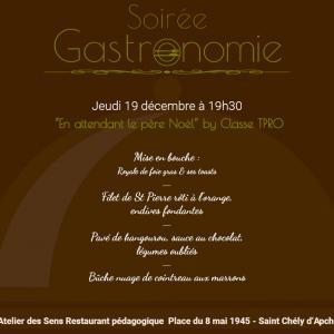Restaurant l atelier des sens 19 12 19 soir gastro