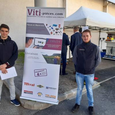 Les BTS Techniques et Services en Matériels Agricoles présents au SITEVI à Montpellier
