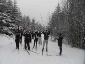 Sortie neige collge 2 janvier 2012