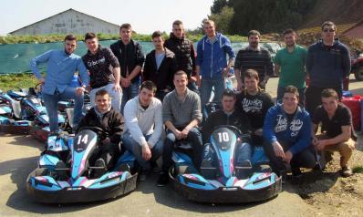 Tsma au karting mars 2016