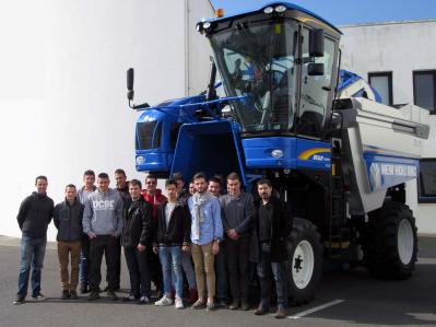 Tsma chez new holland mars 2016