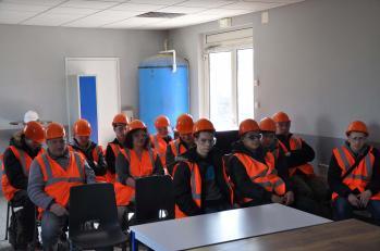 Visite arcelor mittal cap industriels avril 2016