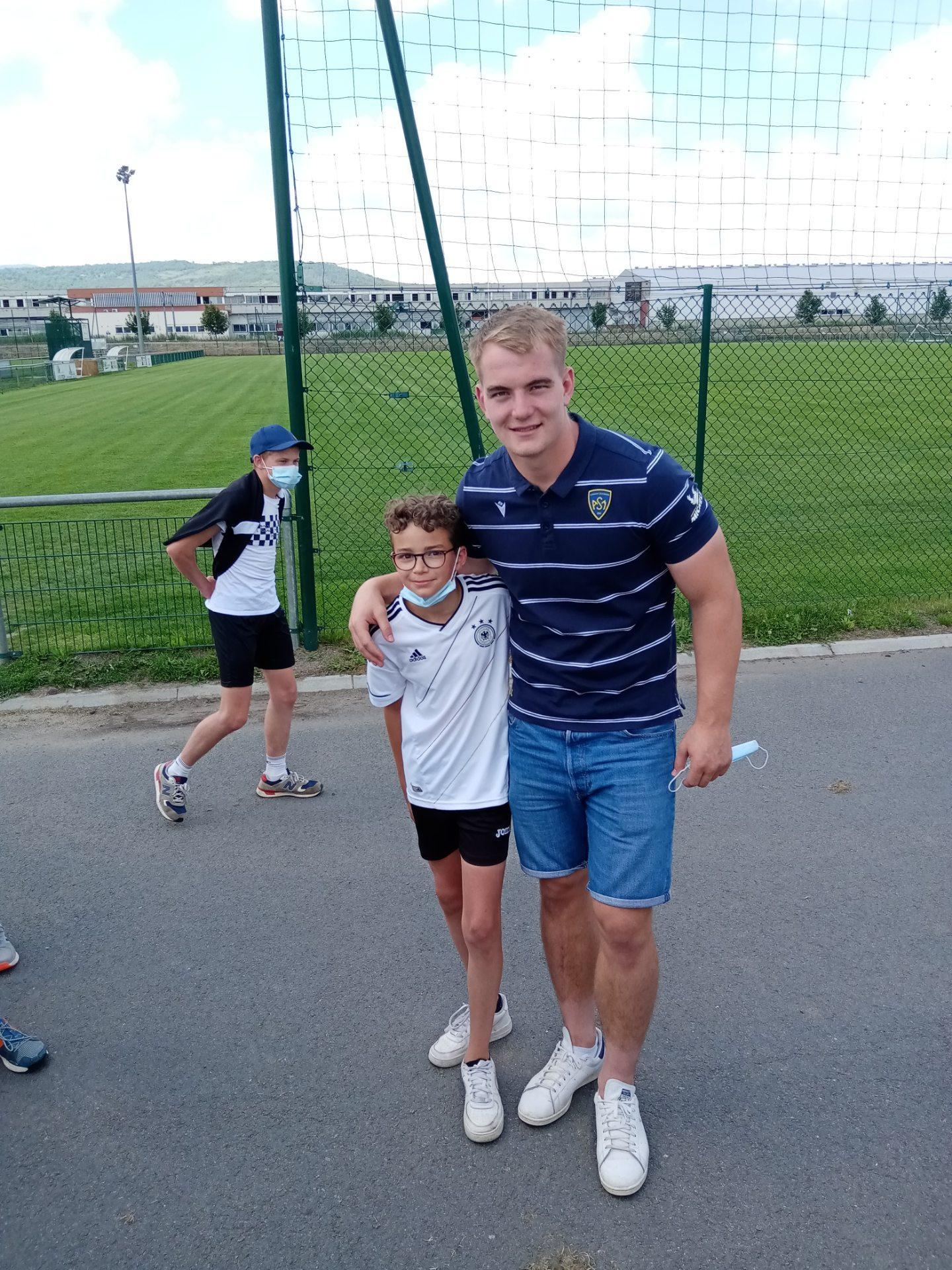 Visite section foot Clermont Foot ASM-4