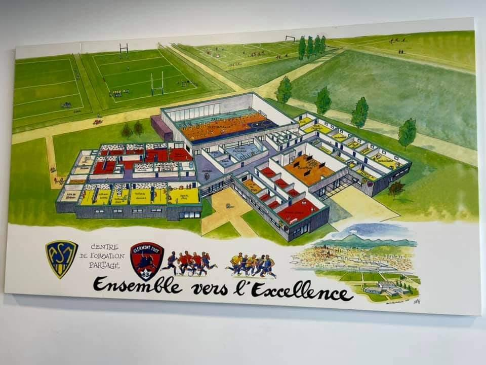 Visite section foot Clermont Foot ASM-6